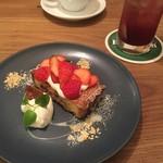 MOVE CAFE - イチゴのタルト
