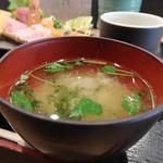 99018197 - 寿司屋のお刺身定食
