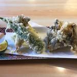 流山 すず季 - 牡蠣の天ぷら