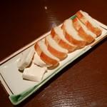 和食屋 隠口 - 酒盗チーズ バケット添え650円