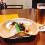 和風ダイニング やえびし - ビールとラフティー(´∀`=)