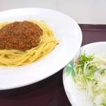 鮫洲運転免許試験場 食堂 - 定番外してスパゲッティ!人観るのが楽しみね。