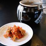 麺屋 壱力本舗 - 食べ放題の「キムチ」