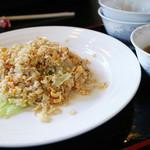 麺屋 壱力本舗 - 問題の「レタス炒飯」