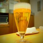 神楽坂 龍公亭 - ランチビール(450円)