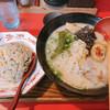 慶みん - 料理写真:きょうみんらーめん+チビ焼き飯セット