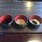 そばの実 - 蕎麦汁、胡桃汁、山芋トロロ
