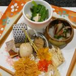 永源寺温泉 八風の湯 - 料理写真:(撮影 20181023)温泉宿にしては合格点の食事)