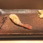 おたる政寿司 - * 生ぼたんえび 2500円
