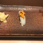 おたる政寿司 - * いか雲丹 1100円