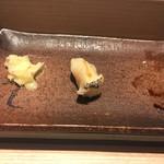 おたる政寿司 - * つぶ貝 1100円