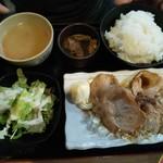 うみブタ - 生姜焼き定食