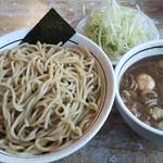 美豚 - 煮魚出汁つけ麺+ねぎ