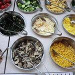 ビッグボーイ - 料理写真:初キノコ類サラダバー