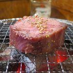 たまには焼肉 - 和牛厚切りタン塩