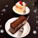 サンジェルマンタンドレス - チョコレートケーキ