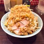 立川マシマシ - 小ラーメン麺を豆腐に変更、野菜マシ、アブラマシ