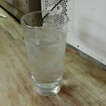 まるしん - 焼酎水割り