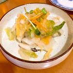大船おでんセンター - 白菜のお新香