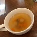 ロッソ エ ビアンコ - ランチ スープ