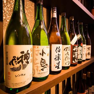 料理に合わせて♪充実の日本酒