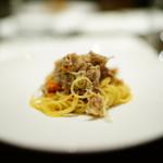 ビンゴ - セイコ蟹の冷製カッペリーニ