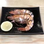 磯料理 魚の「カネあ」 - えびの鬼がら焼き