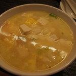 酒菜 氷凌花 - 玉子豆腐スープ