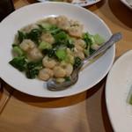 瑛琳  - エビと青梗菜