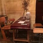 丸祇羅 - 【'18.12】テーブル席もあります