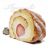 パティスリー コマド - 料理写真:苺ロール