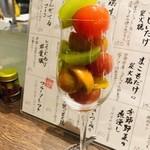 地鶏割烹 稲垣 - トマト浅漬け