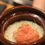 馳走菴 ひじり - 料理写真:せいこがにのご飯 のこっても持って帰れません