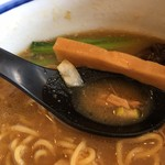 一閑人 - 材料がいろいろ溶け合ったスープは美味しい