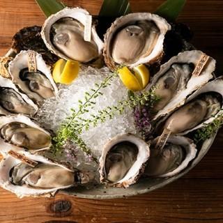 全国各地から、旬で新鮮な生牡蠣を毎日入荷中!