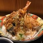 銀座 佐藤養助 養心蔵 - 甘めの天丼
