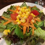 99050678 - セットのサラダはボリューム満点!                       これも結構お腹にたまります(笑)