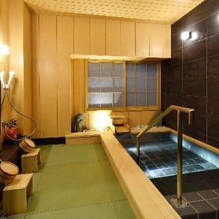 旅館だから、日帰り入浴プランもあり!貸し切り風呂もOK