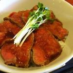 むちゃく - 日替り  ローストビーフ丼  850円