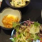むちゃく - サラダと小鉢