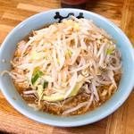 ラーメン二郎 - 小ラーメン 麺半分 野菜マシ