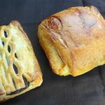 Perle - 料理写真:チョコパイ:ミルキーフランス
