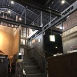 宮田屋珈琲レンガ館 Cafe - 2F  喫煙席への階段