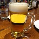 ピッツェリア・エ・バール・ラ・ボラッチャ - 生ビール