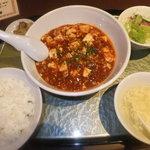 9906365 - 中国並激辛麻婆豆腐定食 【 2011年10月 】