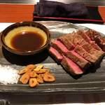 恵手得亭 - シャトーブリアンステーキの蒸籠蒸し