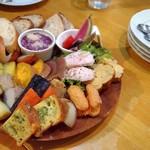 ラ コミュニタ - Farmer's Plate(2人前) 1600円