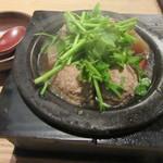 蕎麦前 山都 - 「鴨団子の筑前煮」