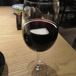 蕎麦前 山都 - グラスワイン赤