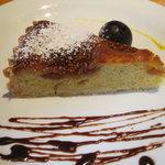 ビストロ グランビア - イチジクのタルト。普通に美味しい。